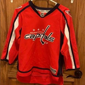 Official Washington Capitals Ovechkin NHL jersey